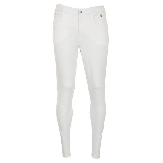 BR Pantalon d'équitation Leeds silicone genou homme