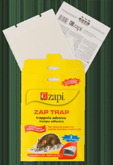 Zapi Zap Trap Glue pour souris & amp; insectes 15x21cm