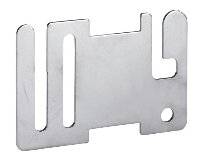 Hofman Ruban clôture début / plaque d'extrémité en acier inoxydable