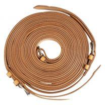 Guides de présentation en cuir pour harnais simple