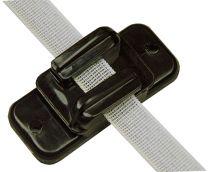 Hofman Isolant Ruban / cordon / fil Noir à 20 mm