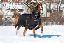 Couverture d'extérieur Horseware Rambo Optimo 0 g et protection d'encolure 150 g avec doublure 400 g