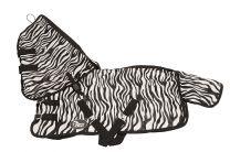 Chemise anti-mouches Harrys Horse Zebra