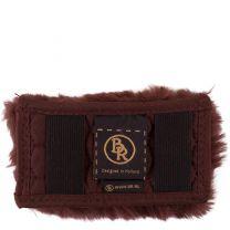 BR Protège-chaîne gourmette en Peau de Mouton 5cm