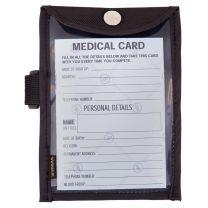 Carte médicale BR dans le support de bras