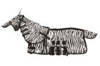 Chemise anti-mouches MHS Zebra avec encolure et masque