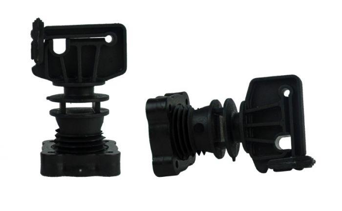 Hofman Isolateur à visser pour poteau rond ø 16mm, ruban jusqu'à 30 mm