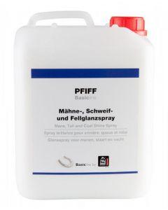 PFIFF Spray brillant pour la crinière, la queue et le pelage Basicline