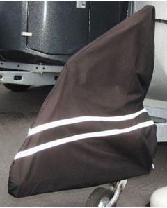 Protection pour flèche d'attelage