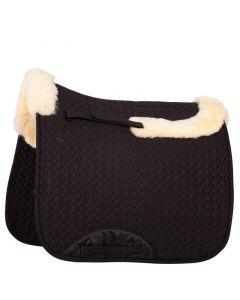 BR Découpe de couverture de selle Peau de mouton tout usage