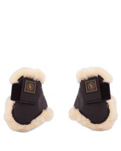 BR Bretelles pour bottes d'équitation Snuggle imitation peau de mouton