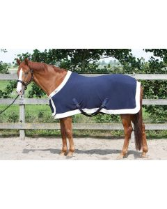 Harry's Horse Modèle d'état de tapis polaire avec rabat de poitrine