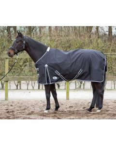 Harry's Horse Couverture Thor noir, fleece lining