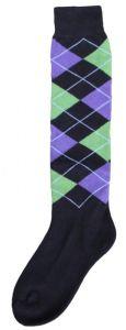Hofman Chaussettes RE 35/38 Black/Purple