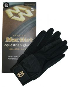Hofman Gants d'équitation Micro Mesh 8,5 Navy