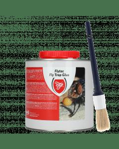Hofman Flytec Fly Trap Glue avec pinceau
