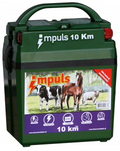 Hofman Application de la batterie. Impulsion 10 km