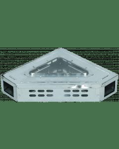 Hofman Souricière Catch-A-Mouse avec couvercle transparent Modèle d'angle