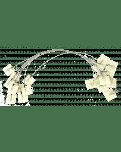 Hofman Ancrage adhésif pour une alimentation stable des deux côtés + crochet