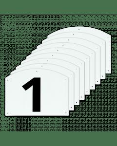 Vplast Afficher les numéros de saut 1 à 9