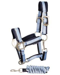 Harry's Horse Ensemble licol STOUT! Bleu