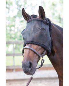 Harry's Horse Masque anti-mouches sans oreilles noir