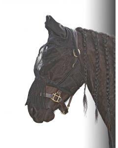 Harry's Horse Masque anti-mouches Flyshield franges