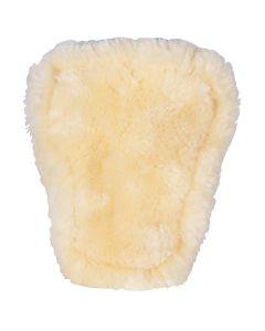 BR Doublure de sangles de bottes d'équitation en peau de mouton