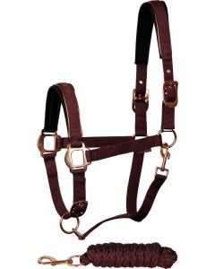 Harry's Horse Ensemble licol Just Ride Rosegold