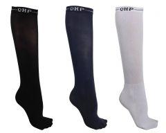 QHP Afficher les Chaussettes Couleur (lot de 3) Basic
