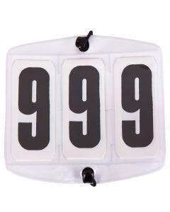 Numéros de départ blancs