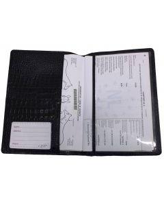 QHP Carte de Passeport pour Chevaux Croco
