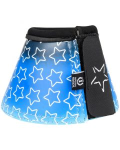 Bottes d'équitation impériales tombant étoiles bleu marine