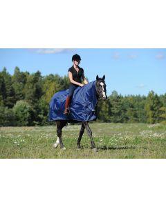 Bucas Couverture d'équitation de protection contre la pluie