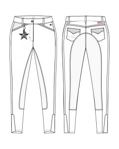 Culotte d'équitation Imperial Edition Star Edition Standard Siège complet