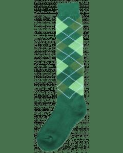 Excellent Chaussettes genoux RE d. Vert / l. Vert / vert 43-46