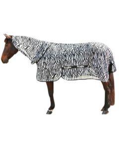 Hofman Couverture anti-mouches Zebra avec pièce de cou