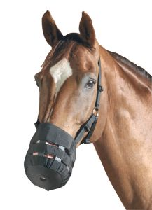 PFIFF Muselière ou panier pour empêcher le cheval de manger