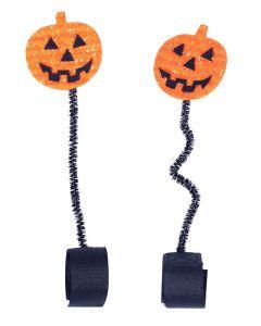 QHP Accessoire de casque Citrouille d'Halloween