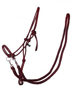 QHP Licol de corde avec rênes