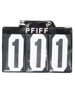 PFIFF Numéro de départ pour schabrak