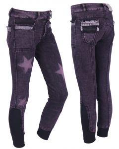 QHP Pantalon d'équitation Rosanne Junior leg grip