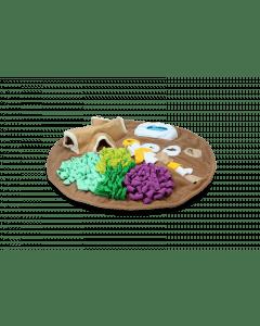Hofman AFP Dig it - Tapis rond moelleux avec jouet pour hoge