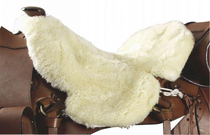 PFIFF Couvre-siège western en mouton véritable
