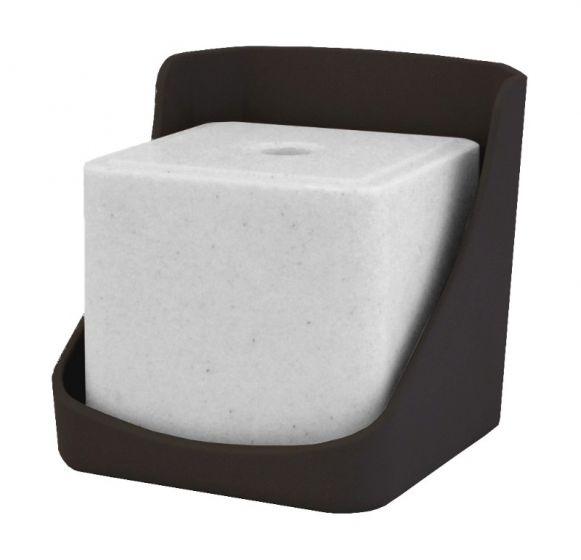 Hofman Support de pierre à lécher en plastique DURA pour lèche 10 kg