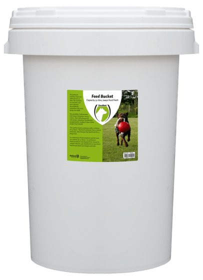 Hofman Baril d'alimentation avec fermeture rotative 52 litres